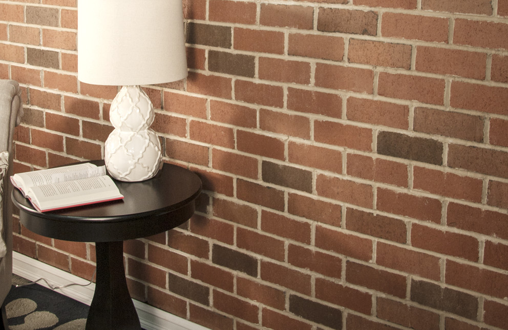 Veneer Brick Accent Wall - Berkeley Blend