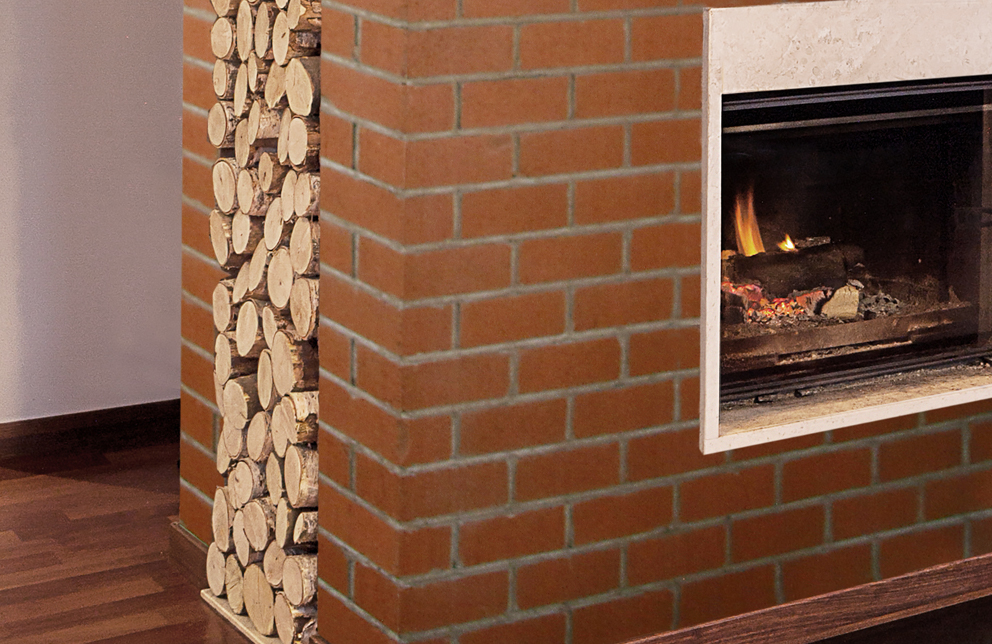 Veneer Brick Fireplace Surround - 310 Cambridge