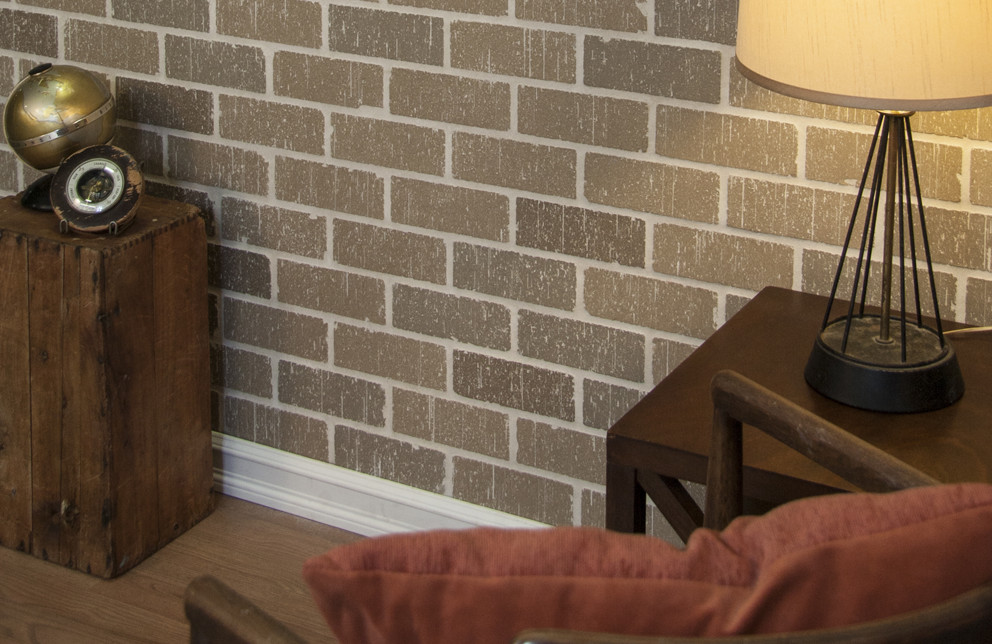 Brick Veneer Accent Wall - Lexington Blend