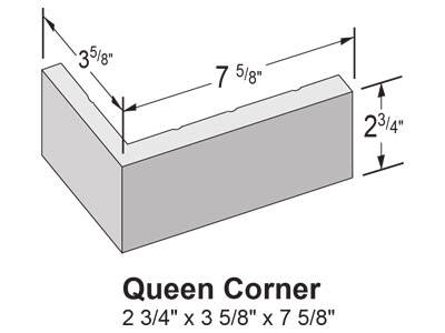 Veneer Thin Brick Queen Size