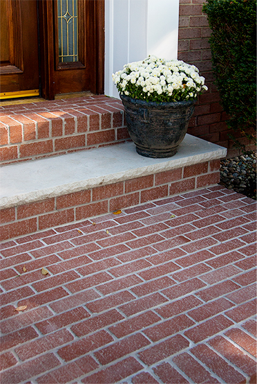 Thin Brick Pavers Outdoor Porch